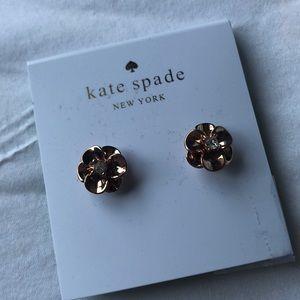 NWT Kate Spade Flower Studs